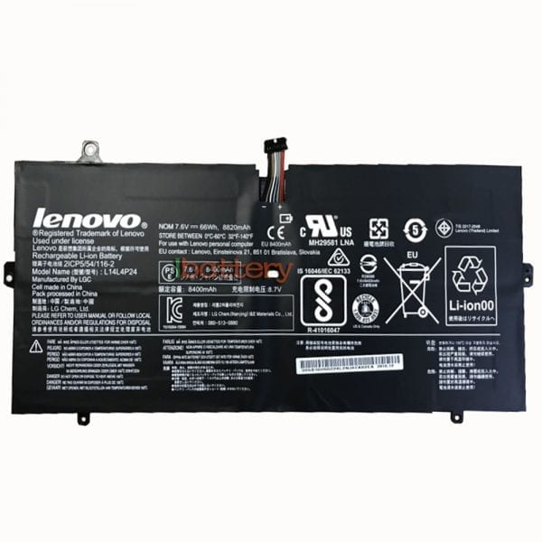 Original laptop battery for LENOVO Yoga 900-13ISK