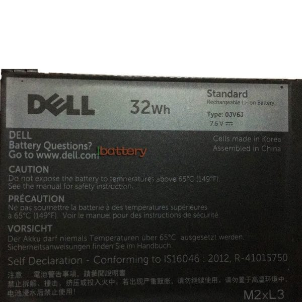 Original laptop battery for DELL Inspiron 11 3000