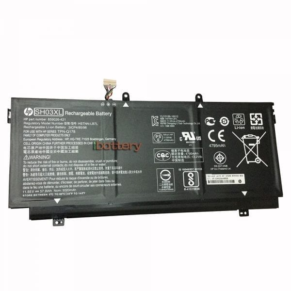 Original laptop battery for HP Spectre x360 13-AC033DX