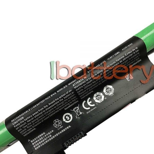 Original laptop battery for CLEVO 6-87-W945S-42F