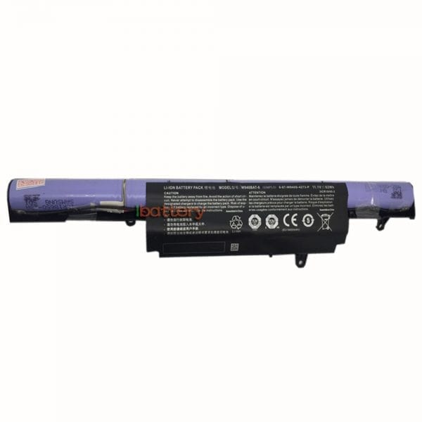 Original laptop battery for CLEVO W940S