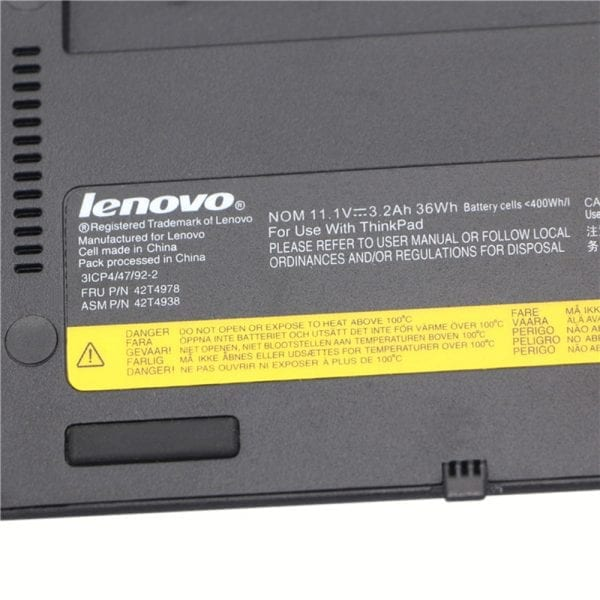 Original laptop battery for  LENOVO Thinkpad X1,0A36279