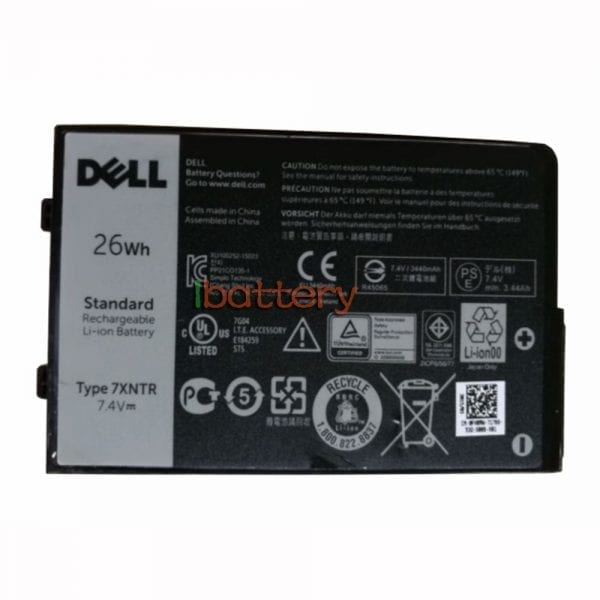 Original tablet battery for DELL LATITUDE RUGGED TABLET 12