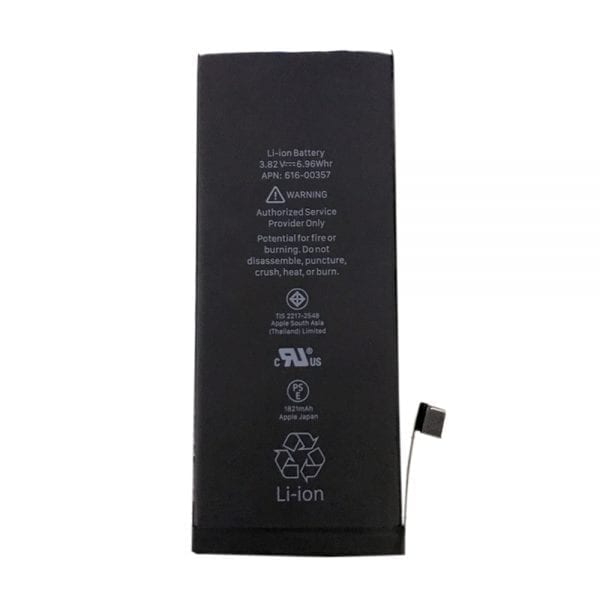 Original cell phone battery 616-00357 for iphone 8