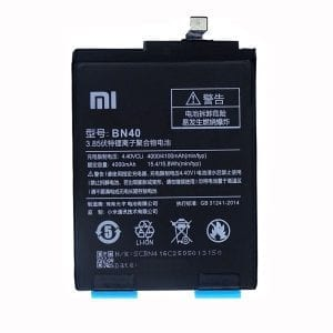 Original cell phone battery BN40 for Xiaomi Redmi 4 Pro