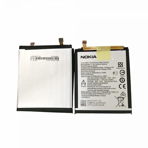 Original cell phone battery HE345 for Nokia 6 II 2018