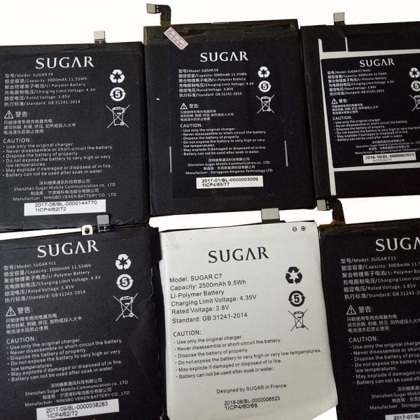 Original cell phone battery for SUGAR Y11