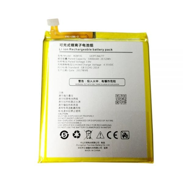 Original cell phone battery for AGM X1