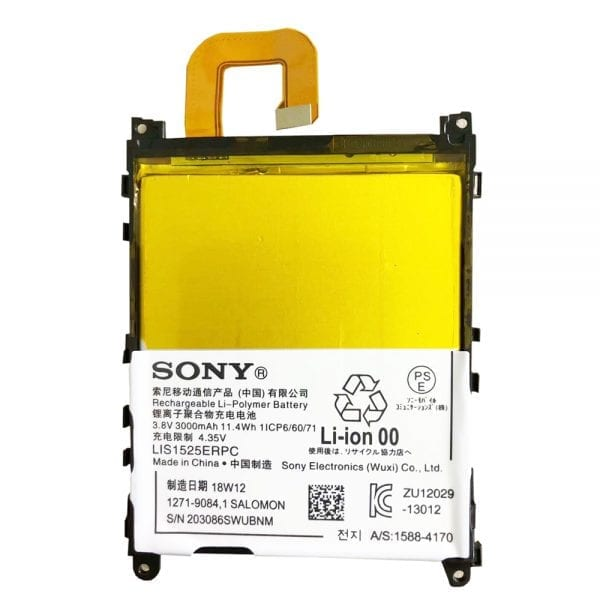 Original cell phone battery LIS1525ERPC for SONY Xperia Z1