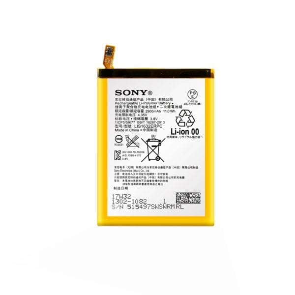 Original cell phone battery LIS1632ERPC for SONY Xperia XZ