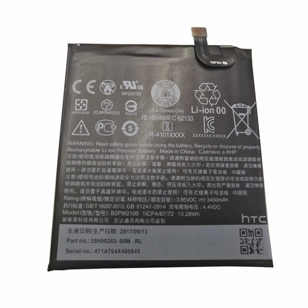 Original cell phone battery B2PW2100 for Google Pixel XL