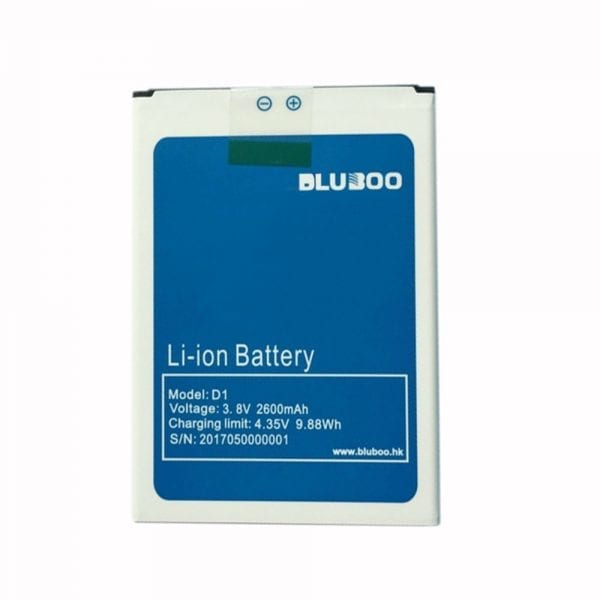 Original cell phone battery for Bluboo D1