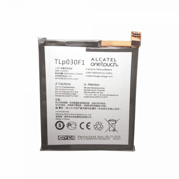 Original cell phone battery TLP030F1 for TCL 950