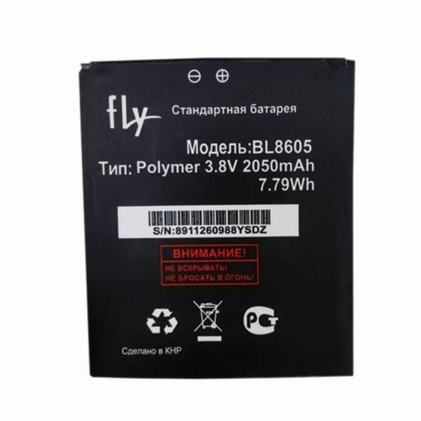 Original cell phone battery BL8605 for FLY FS502