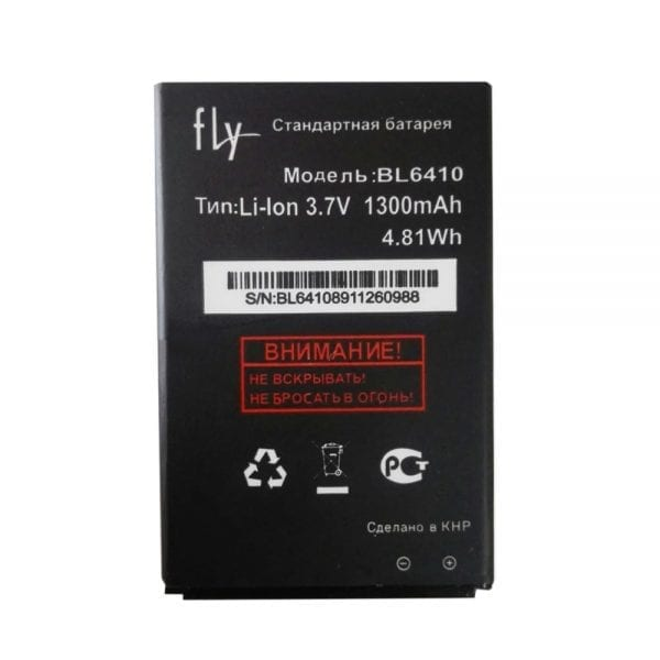 Original cell phone battery BL6410 for FLY TS111