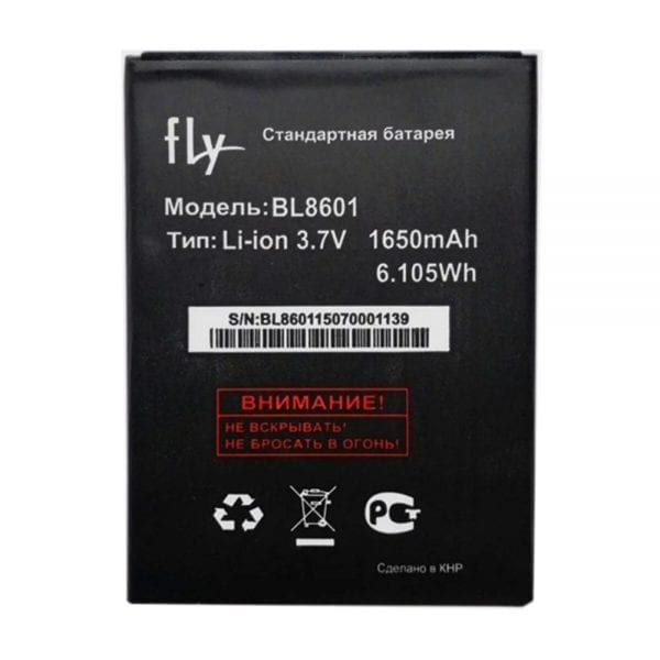 Original cell phone battery BL8601 for FLY IQ4505