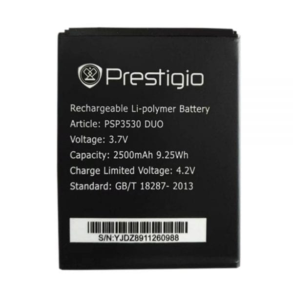 Original cell phone battery for Prestigio PSP3530 DUO