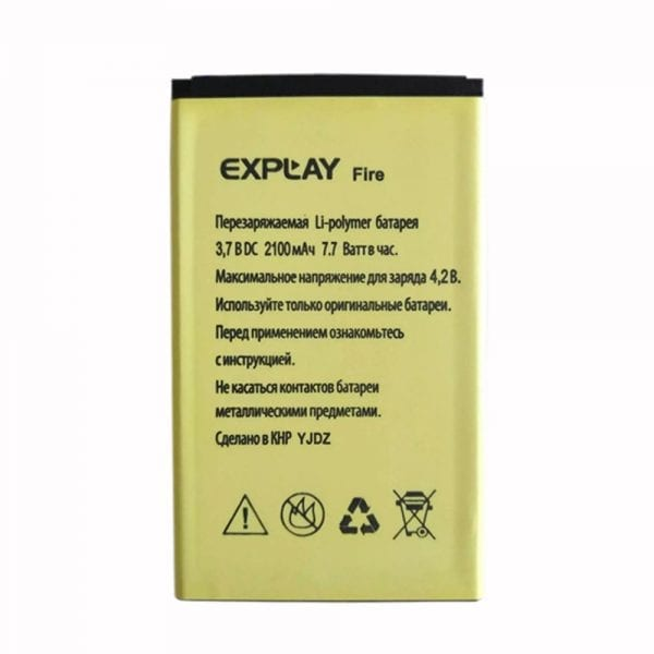 Original cell phone battery for Explay Fire