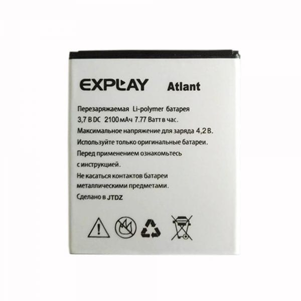 Original cell phone battery for Explay Atlant
