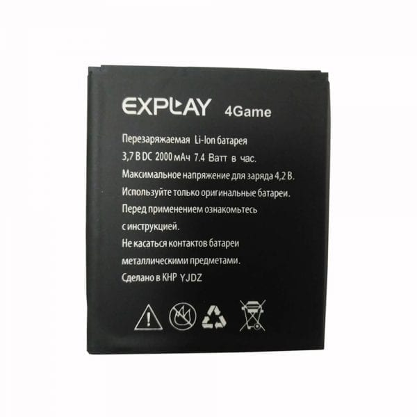 Original cell phone battery for Explay 4Game