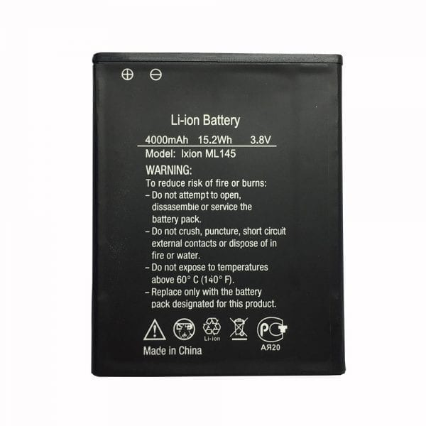 Original cell phone battery for DEXP Ixion ML145