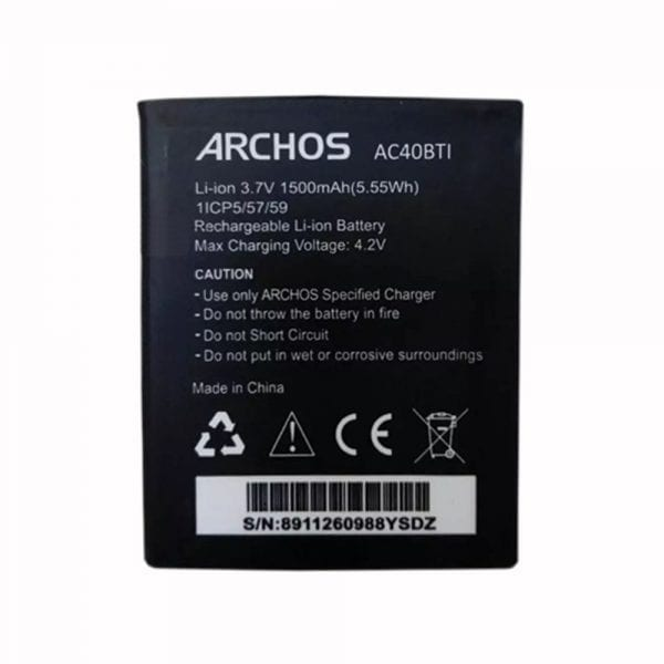 Original cell phone battery for ARCHOS AC40BTI