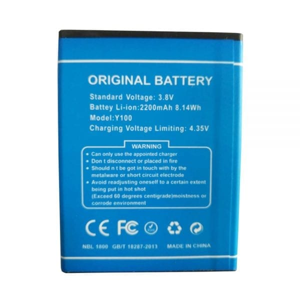 Original cell phone battery for DOOGEE Y100