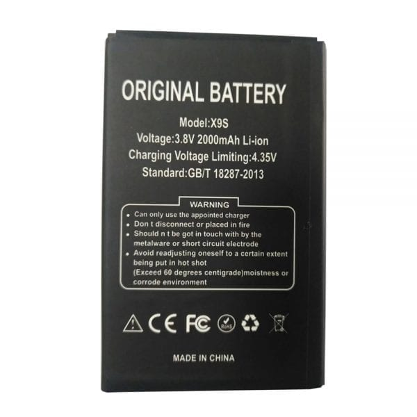 Original cell phone battery for DOOGEE X9S