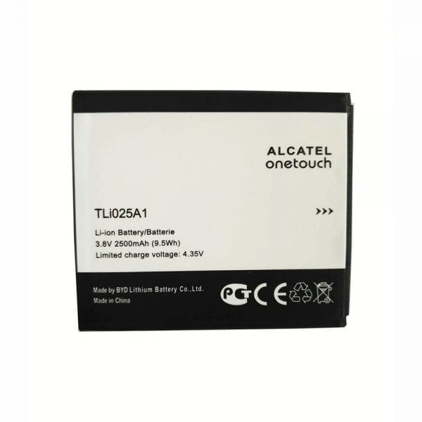 Original cell phone battery TLi025A1 for Alcatel onetouch POP 4