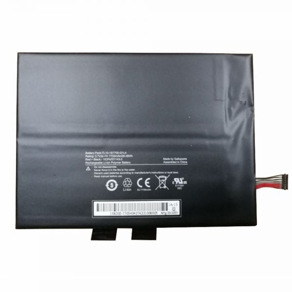 Original tablet battery for HASEE TL10-1S7600-S4L8,TL10-1S7700-G1L4