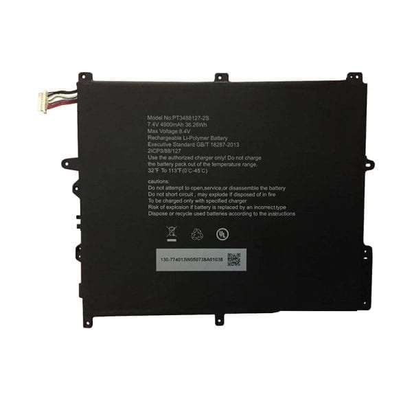 Original tablet battery for Hasee PT3488127-2S