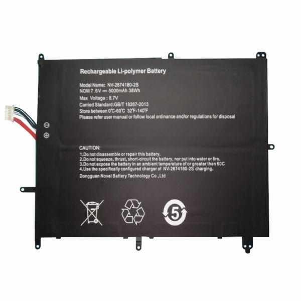 Original laptop battery for JUMPER TH133K-MC,TH140A,Ezbook S4,Ezbook X4,BBEN AK14,Gemini NC14,BYONE C14U,Traveler 14.1