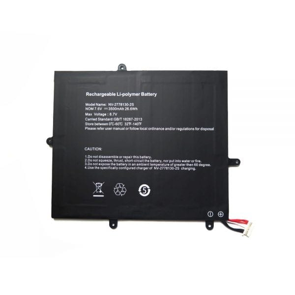 Original laptop battery for NV-2778130-2S,JUMPER Ezbook X1