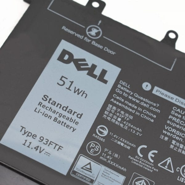 Original laptop battery for DELL Precision M3520 M3350