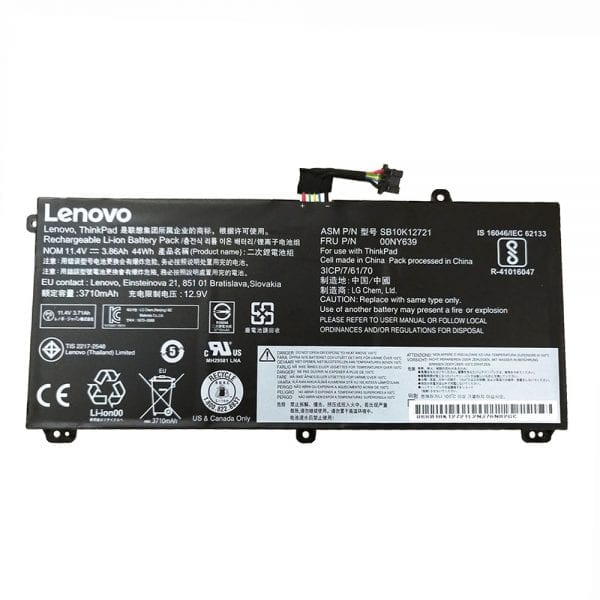 Original laptop battery for Lenovo ThinkPad P50S