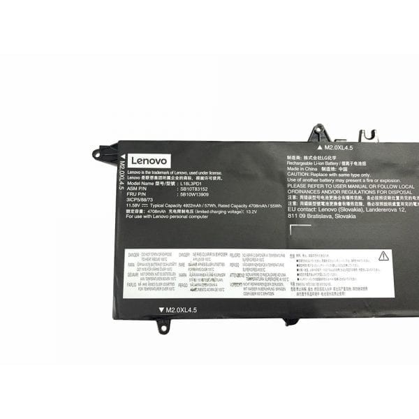 Original laptop battery for LENOVO 02DL013 02DL014 02DL015 02DL016,SB10K97652