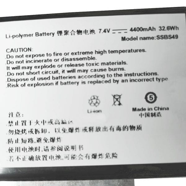 Original laptop battery for Haier Y13A Y13B xps13-8808