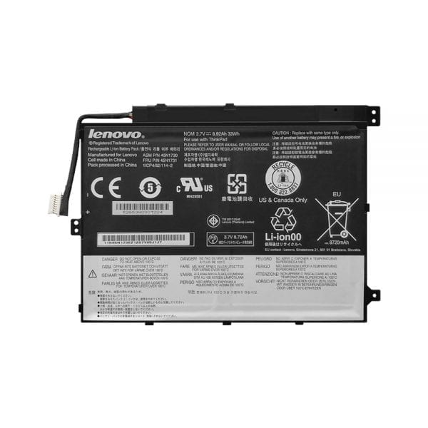 Original laptop battery for LENOVO Thinkpad Tablet 10 TP00064A