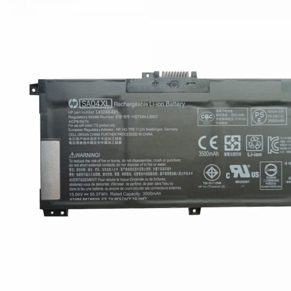 Original laptop battery for HP ENVY X360 15-DR
