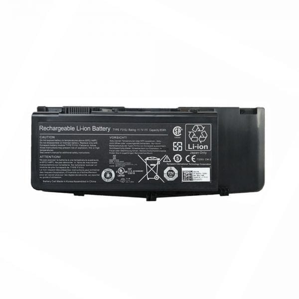 Original laptop battery for DELL Alienware M17X R1 R2 R3,0C852J