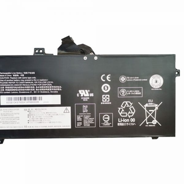 Original laptop battery for LENOVO 02DL017 02DL018 02DL019 02DL020,SB10K97655