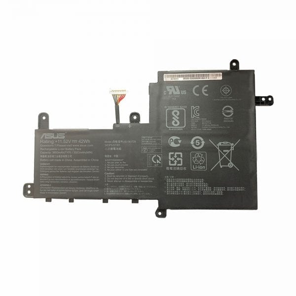 Original laptop battery for ASUS VivoBook S15 S530UA,S530UN,X530FN,S5300U S5300F