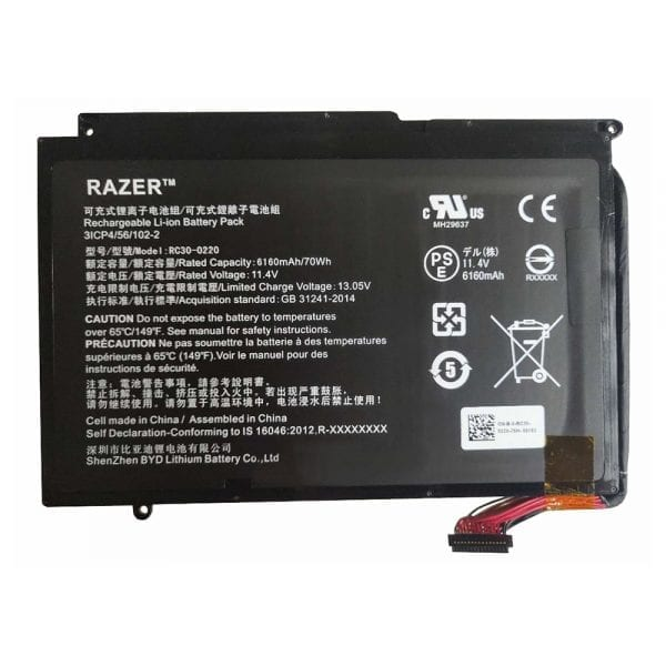 Original laptop battery for RAZER Blade 17