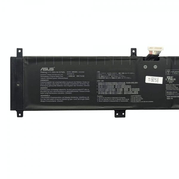 Original laptop battery for ASUS StudioBook 17 H700GV