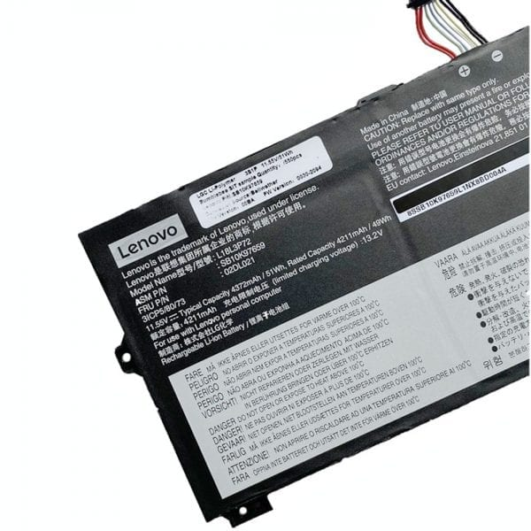 Original laptop battery for LENOVO Thinkpad P43S
