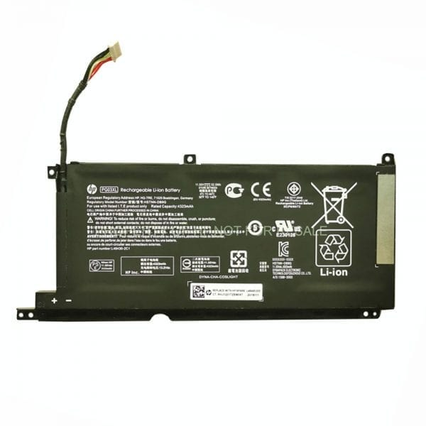 Original laptop battery for HP Spectre X360 15-ap063nr,Spectre x360 15t-ap000,Spectre x360 15t-ap000