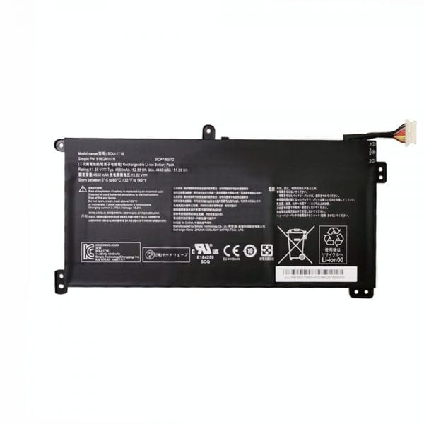 Original laptop battery for Hasee SIMPLO SQU-1716,916QA107H