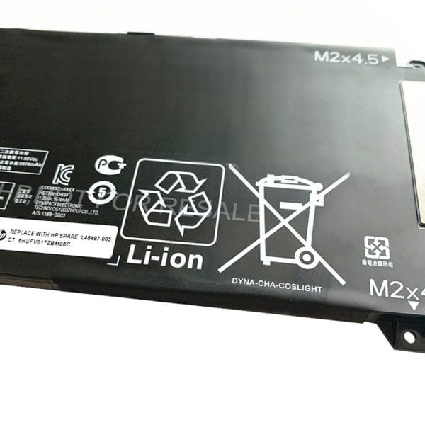 Original laptop battery for HP Omen 5 Air 15-dh,Omen 15-DH0006TX,15-dh0007TX,15-dh0008TX,15-dh0151TX,15-dh1053TX,15-dh0161TX