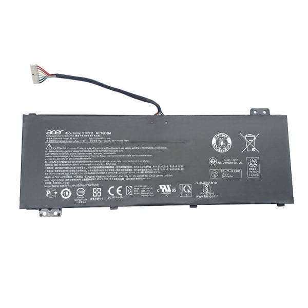 Original laptop battery for ACER Aspire 7 A715-74,Nitro 5 AN515-54,AN515-43,ConceptD 5 CN515-71