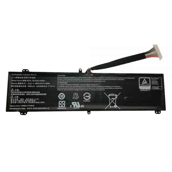 Original laptop battery for EVGA 758-41-2633-T1,SC17,SC17 1070